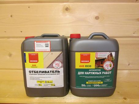 Средства защиты древесины 45